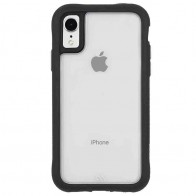 Case-Mate Protection Collection iPhone XR Hoes Zwart Transparant 01