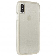 Case-Mate Naked Tough iPhone X Hoesje Sheer Glam 01