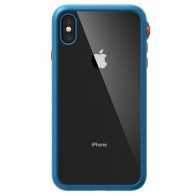 Catalyst Impact Protection Case iPhone XS Max Blauw / Transparant 01