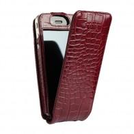 Sena Magnetflipper iPhone 5 Croco Burgundy - 1