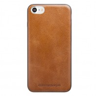 DBramante1928 - Billund Leather Back Case iPhone 7 Tan 01