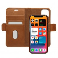 Dbramante1928 - Lynge iPhone 12 Mini 5.4 inch Wallet Bruin 01