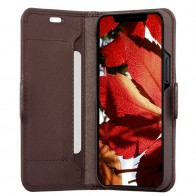 Dbramante1928 Milano iPhone 12 / 12 Pro 6.1 Dark Chocolate - 1
