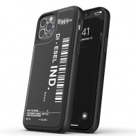 Diesel Moulded Case iPhone 12 / 12 Pro 6.1 zwart/wit 01