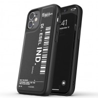 Diesel Moulded Case iPhone 12 Mini zwart/wit 01