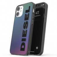 Diesel Snap Case Clear iPhone 12 Mini 5.4 Holo Logo 01