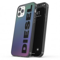 Diesel Snap Case Clear iPhone 12 Pro Max 6.7 Holo Logo 01