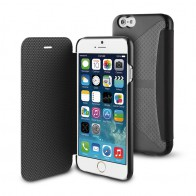Muvit Easy Folio iPhone 6 Plus Black - 1