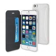 Muvit Easy Folio iPhone 6 Plus White - 1