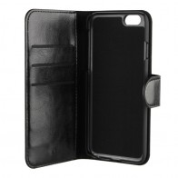 Xqisit Wallet Case Eman iPhone 8/76S/6 Black - 1
