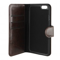 Xqisit Wallet Case Eman iPhone 6 Brown - 1