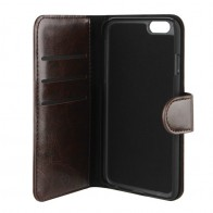 Xqisit Eman Wallet iPhone 6 Plus Brown - 1