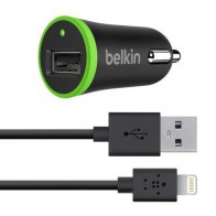 Belkin 1,0A Lightning Car Charger Black