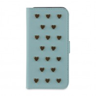 Fab. iPhone 5/5S Folio Studs Aqua - 1
