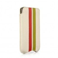 Beyzacases SlimLine Stripes iPhone 4(S) (white/red/green) 01