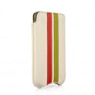 Beyzacases SlimLine Stripes iPhone 4(S) (white/red/green) 01