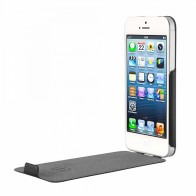 Bugatti - Ultra Thin Flip Case iPhone 5/5S Black - 1