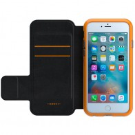 Gear4 3DO BookCase iPhone 6 / 6S Black/Orange - 1