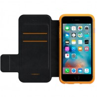 Gear4 3DO BookCase iPhone 6 Plus / 6S Plus Black/Orange - 1