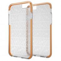 Gear4 3DO JumpSuit iPhone 6 Plus / 6S Plus Clear/Orange - 1