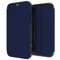 Gear4 - Oxford iPhone 8 Hoesje Blauw - 1