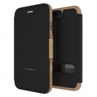 Gear4 Oxford Book Case iPhone 7 Black/ Gold - 1