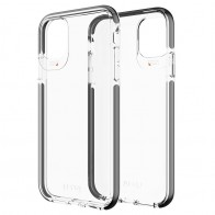 Gear4 Piccadilly iPhone 11 Pro Hoesje Zwart Transparant 01