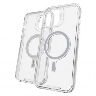 Gear4 Crystal Palace Snap iPhone 12 / 12 Pro MagSafe Doorzichtig Hoesje 01