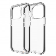 Gear4 Santa Cruz iPhone 13 Pro Max Hoesje Zwart Transparant 01