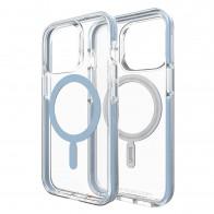 Gear4 Santa Cruz Snap MagSafe iPhone 13 Pro Hoesje Clear Blue 01