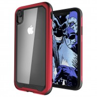 Ghostek Atomic Slim 2 iPhone XR Rood/Transparant - 1