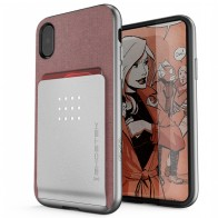 Ghostek Exec 2 Wallet Case iPhone X pink 01