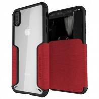 Ghostek Exec 3 Wallet iPhone XS Max Rood - 1
