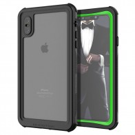 Ghostek Nautical 2 iPhone XS Max Zwart/Groen - 1
