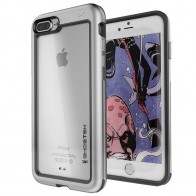 Ghostek - Atomic Slim Case iPhone 8 Plus/7 Plus zilver 01