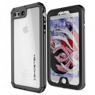 Ghostek - Atomic 3 Waterdicht iPhone 7 Plus hoesje Black 01