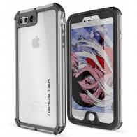 Ghostek - Atomic 3 Waterdicht iPhone 7 Plus hoesje Silver 01