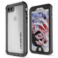 Ghostek - Atomic 3 Waterdicht iPhone SE/5S/5 hoesje Black 01