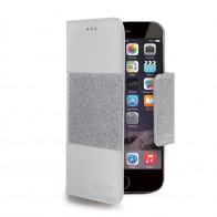 Celly Glitter Agenda iPhone 6 Silver - 1