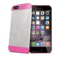 Celly Glitty iPhone 6 Plus Pink/Clear