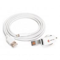 Griffin PowerJolt Autolader 2,4A met Lightning Kabel