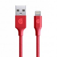 Griffin Premium USB to Lightning Kabel 1,5 meter Rood 02