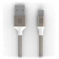 Griffin - Premium USB to Lightning Kabel 3 meter Gold 01