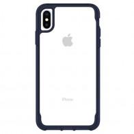 Griffin Survivor Clear iPhone XS Max Hoes Iris/Transparant 01