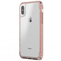 Griffin - Survivor Clear iPhone X Hoesje Rose gold 01