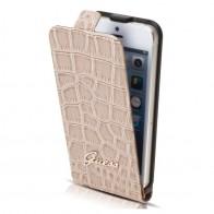 Guess - Crocodile Flip Case iPhone SE / 5S / 5 01