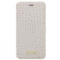 Guess - Croco Book Case iPhone 7 Plus Beige 01