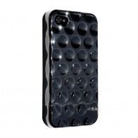 Hard Candy Bubble Slider Chrome iPhone 4 Black - 1