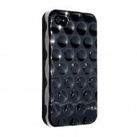 Hard Candy Bubble Slider Chrome iPhone 4 Black - 1