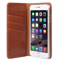 Mekco Herman Wallet Case iPhone 6/6S Tan Brown - 4